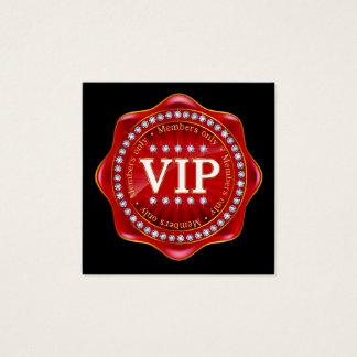 Quadratisches Geschäft VIP, Geschenk, Quadratische Visitenkarte