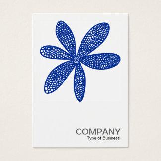 Quadratisches Marine-Blau des Foto-0212 - hübsche Visitenkarte