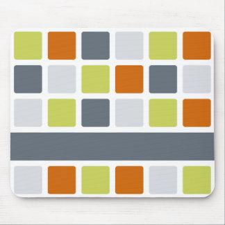 Quadratisches Muster mousepad, fertigen besonders