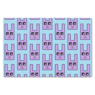 Quadratisches Osterhasen-Seidenpapier Seidenpapier