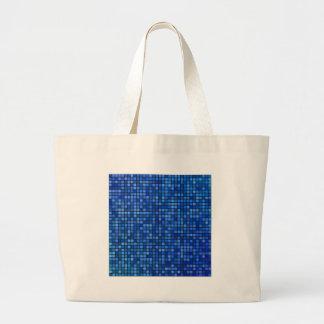 quadratisches Pixel Jumbo Stoffbeutel