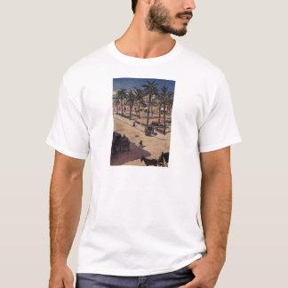 Quadratisches San Fernando in Sevilla durch Vasily T-Shirt