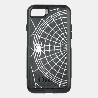 Quadratisches Spinnen-Netz, beängstigender