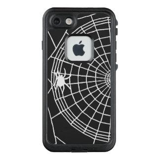 Quadratisches Spinnen-Netz, beängstigender LifeProof FRÄ' iPhone 8/7 Hülle