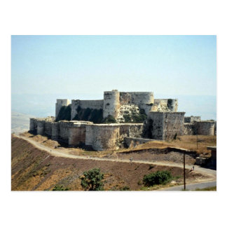 Quala'at Hosn Schloss, Syrien Postkarte