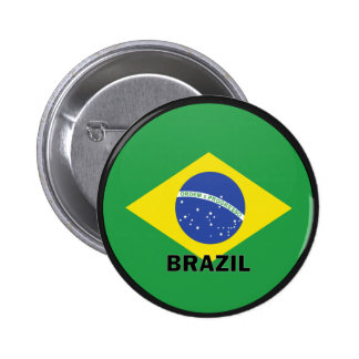 Qualität Brasiliens Roundel Flagge Anstecknadelbutton