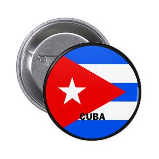 Qualität Kubas Roundel Flagge Anstecknadelbutton