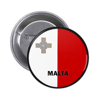 Qualität Maltas Roundel Flagge Anstecknadelbuttons