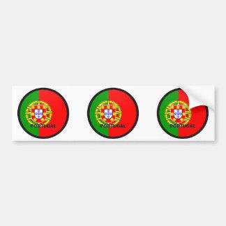 Qualität Portugals Roundel Flagge Autoaufkleber