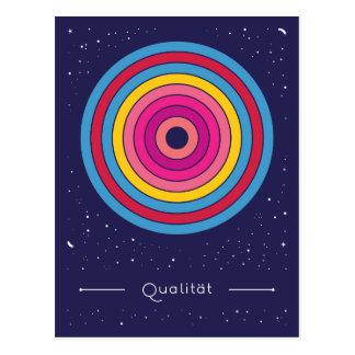 Qualität Postkarte