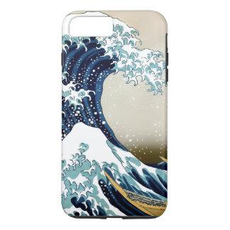 Qualitäts-große Welle weg von Kanagawa durch iPhone 8 Plus/7 Plus Hülle