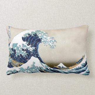 Qualitäts-große Welle weg von Kanagawa durch Lendenkissen