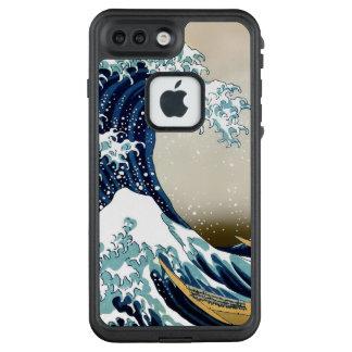 Qualitäts-große Welle weg von Kanagawa durch LifeProof FRÄ' iPhone 8 Plus/7 Plus Hülle