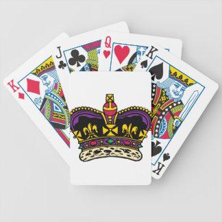 Qualitäts-Krone Bicycle Spielkarten