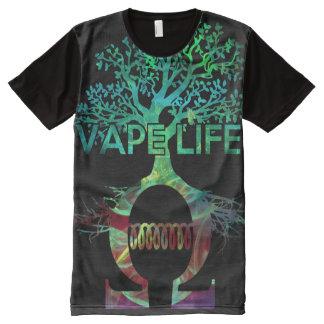 Qualitäts-volles Druck Vape Leben-Shirt T-Shirt Mit Komplett Bedruckbarer Vorderseite