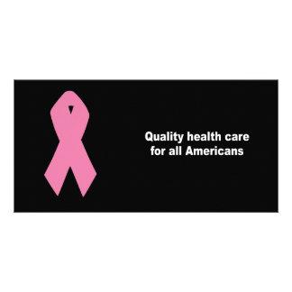 Qualitätsgesundheitswesen für alle Amerikaner Individuelle Photo Karten