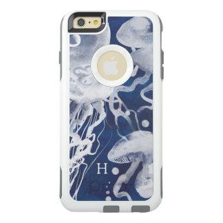 Quallen auf Marine-Hintergrund OtterBox iPhone 6/6s Plus Hülle