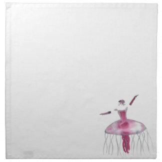 Quallen-Ballerina - Claudette Serviette