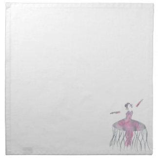 Quallen-Ballerina - Genevieve Serviette