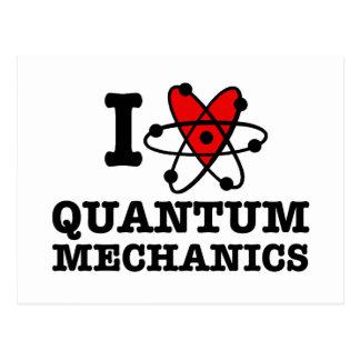 Quantums-Mechaniker Postkarte