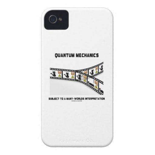 Quantums-Mechaniker viele Weltinterpretation iPhone 4 Case-Mate Hülle