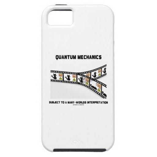Quantums-Mechaniker viele Weltinterpretation iPhone 5 Case