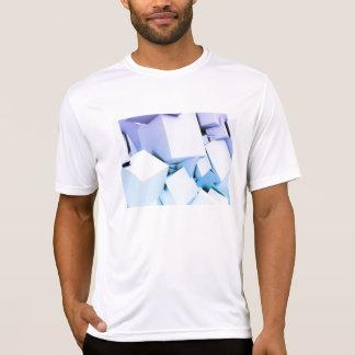 Quantums-Technologie als abstrakte Konzept-Kunst T-Shirt
