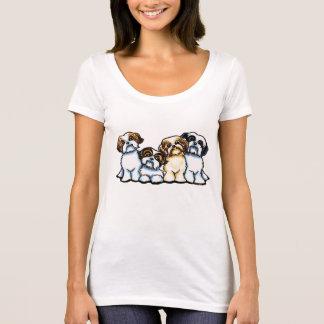 Quartett Shih Tzu T-Shirt