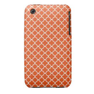 Quatrefoil Muster Case-Mate iPhone 3 Hüllen