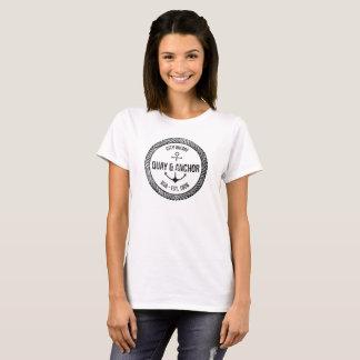 Quay und Anker-Segeln T-Shirt