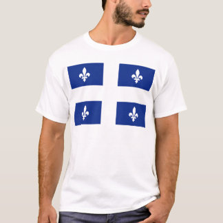 Quebec-Flagge T-Shirt
