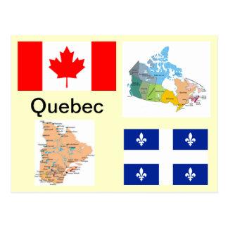 Quebec Kanada Postkarte