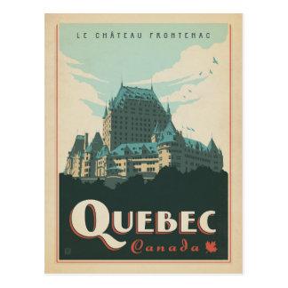 Quebec, Kanada Postkarte