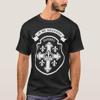 Quebec Nouvelle-Frankreich T-Shirt