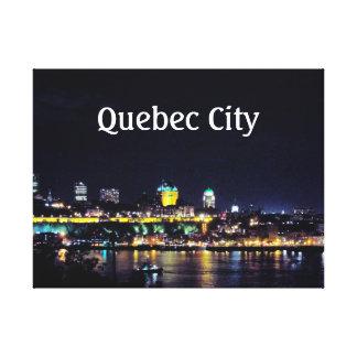 Québec-Stadt Leinwanddruck
