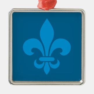 Québec Tabarnak Juron Joual Humor Français Silbernes Ornament
