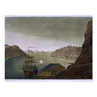 Quebec und das St. Lawrence River, überziehen 4 Postkarte