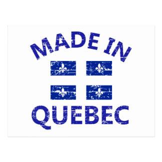 Quebec-Wappen Postkarte