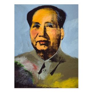 Quee Mao-Postkarte Postkarte