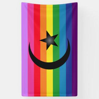Quee moslemische Flagge Banner