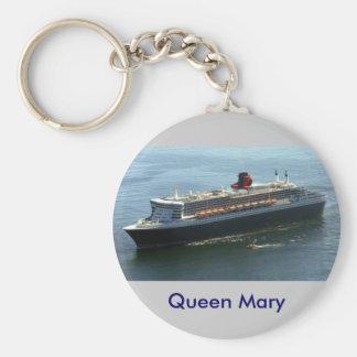 Queen Mary Standard Runder Schlüsselanhänger