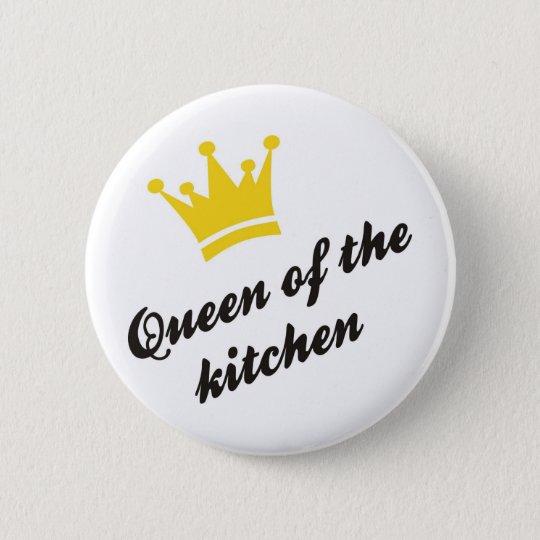 queen of the kitchen runder button 5,7 cm