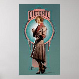 Queenie Goldstein Kunst-Deko-Platte Poster