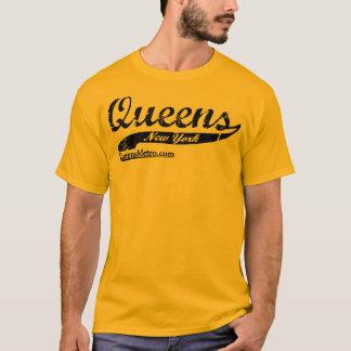 Queens gezüchtete - New York City NY - schwarze T-Shirt