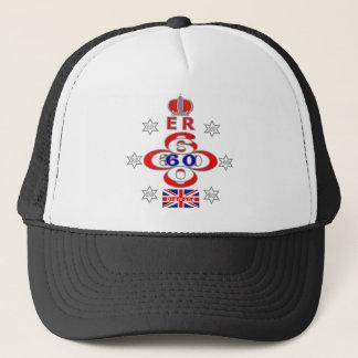 Queens-königlicher Jubiläumsternentwurf Truckerkappe