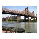 Queensboro Bridge New York City Postkarte