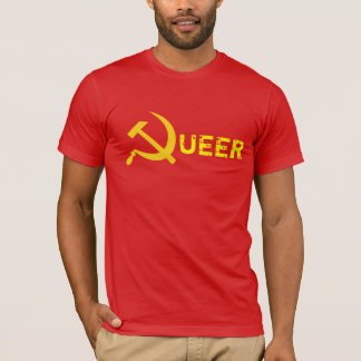 Queer Commie-Abschaum T-Shirt