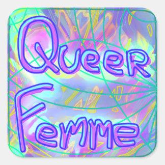 Queer Femme Aufkleber