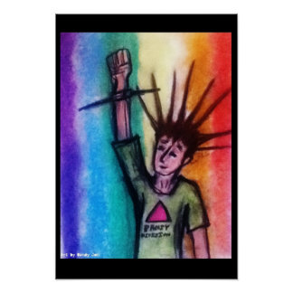 Quees Punk Poster