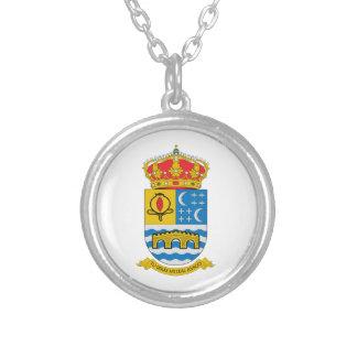 Quentar (Spanien) Wappen Versilberte Kette